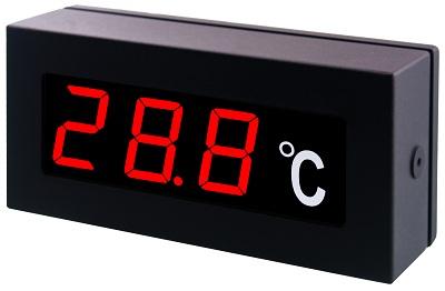 TE-00007 TE-1306RX  溫度顯示器室內防水型(PT入力/單位°C/背後出線)