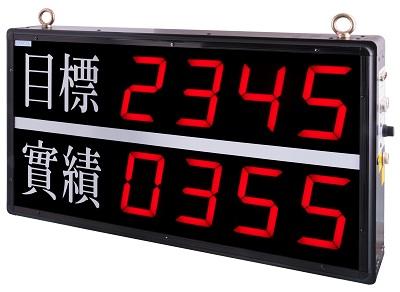 NP-00069 NP-2406AA  生產/計數顯示器(實績一段接點輸出/復歸)
