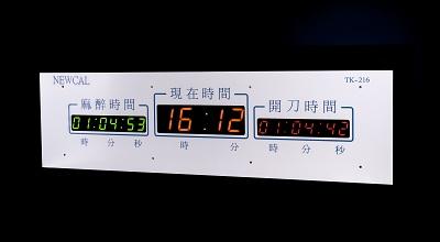 TK-00001 TK-216  開刀房計時器